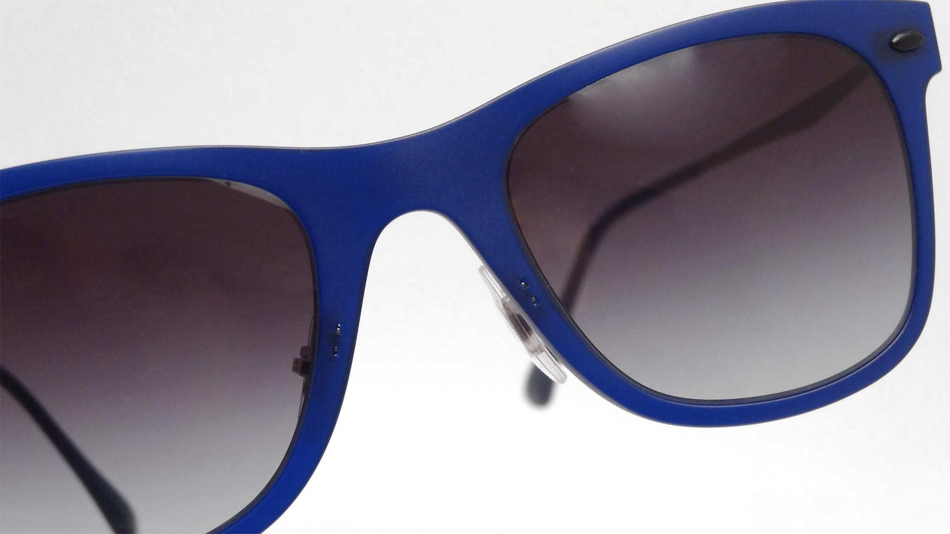 Ray Ban Wayfarer Bleu Mat