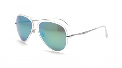 Ray-Ban Aviator Light Ray Transparent Mat RB4211 646/3R 56-17 100,83 €