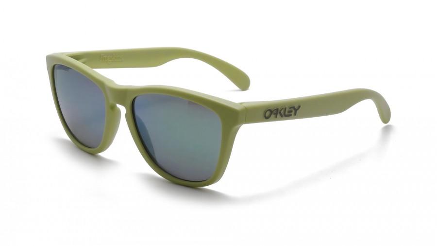 Green Oakley Frogskins