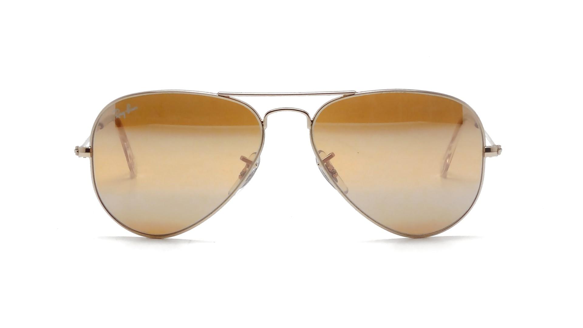 Ray ban aviator metal or rb3025 001 3k 55 14 prix 99 90 for Lunettes de soleil ray ban aviator miroir