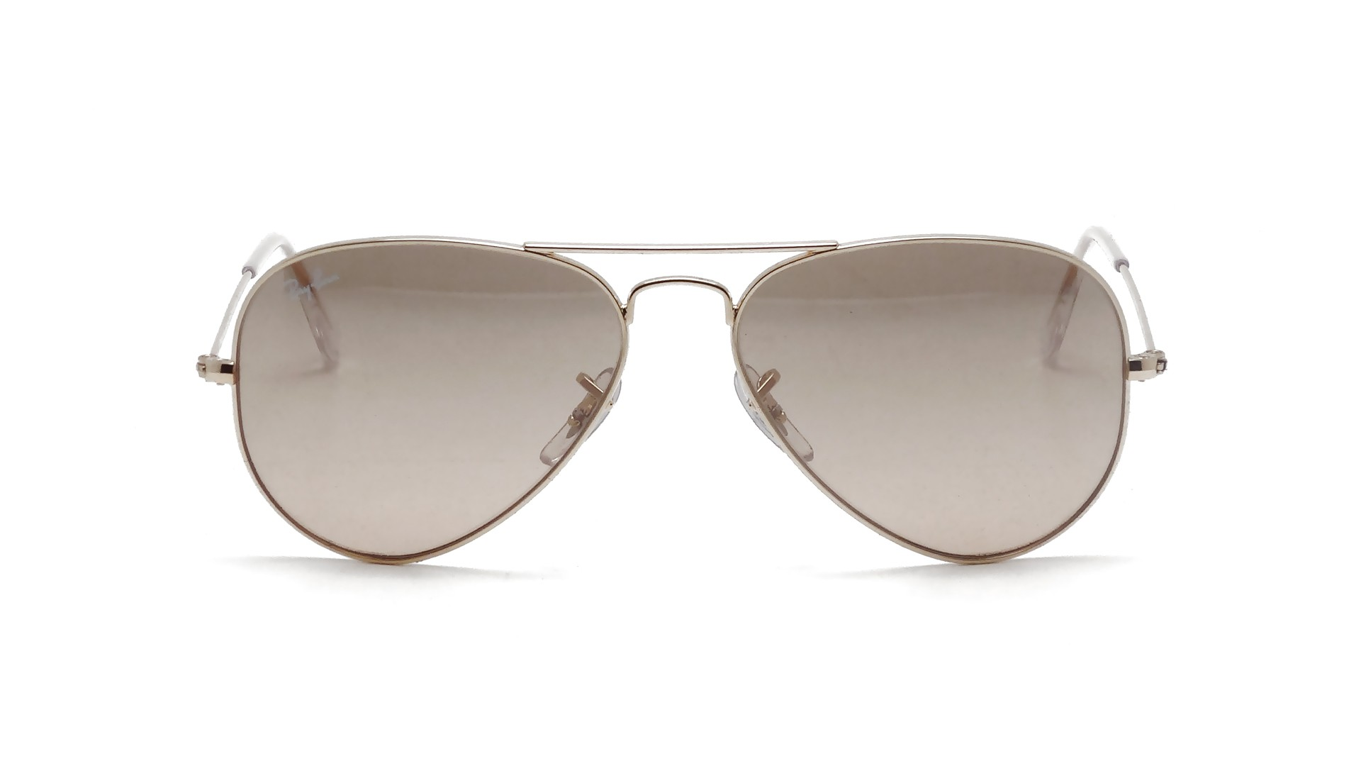Ray ban aviator large metal gold rb3025 001 3e 55 14 for Ray ban aviator verre miroir