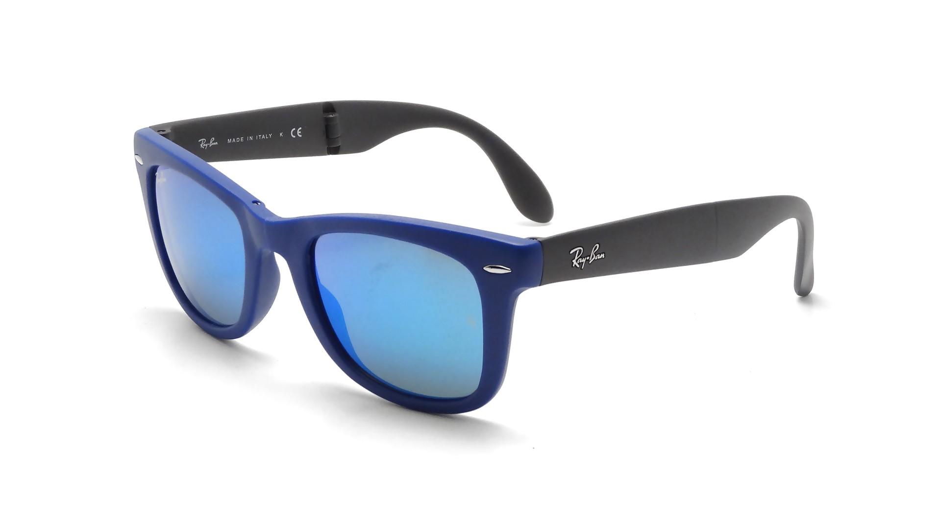 ray ban clubmaster verre bleu