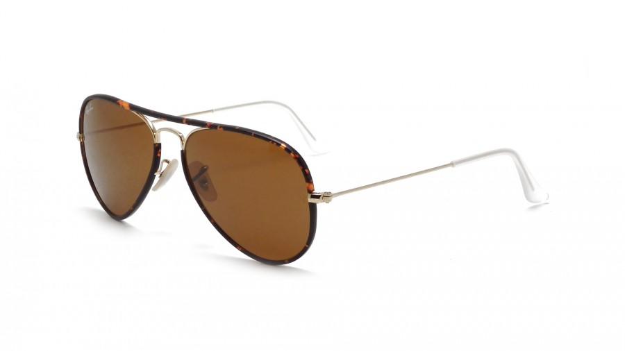 Ray-Ban Aviator Full Color Écaille RB3025JM 001 58-14. Lunettes de soleil  ... c7e89e50990c