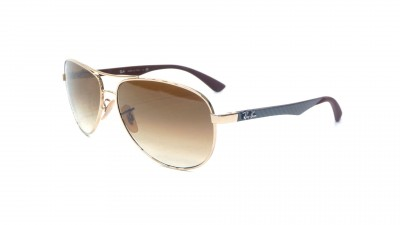 Ray-Ban Fibre Carbon Or RB8313 001/51 61-13 104,08 €