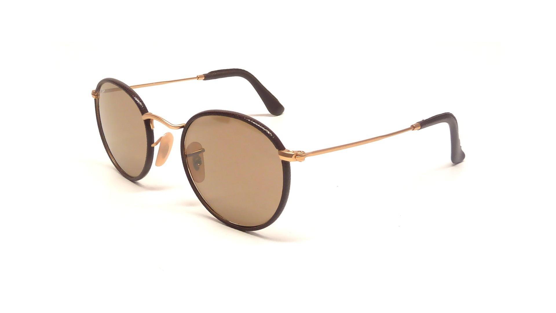ray ban round craft brown rb3475q 112 53 50 21 visiofactory
