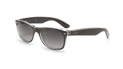 Ray-Ban New Wayfarer Metal Effect Gris RB2132 6143/71 55-18 77,42 €