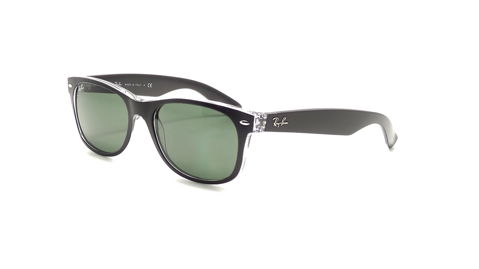 ray ban 2132 new wayfarer  Ban New Wayfarer Black RB2132 6052/58 52-18 Polarized