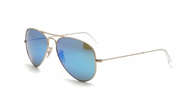 Ray-Ban Aviator Large Metal Or Mat RB3025 112/4L 58-14 Polarisés 124,92 €