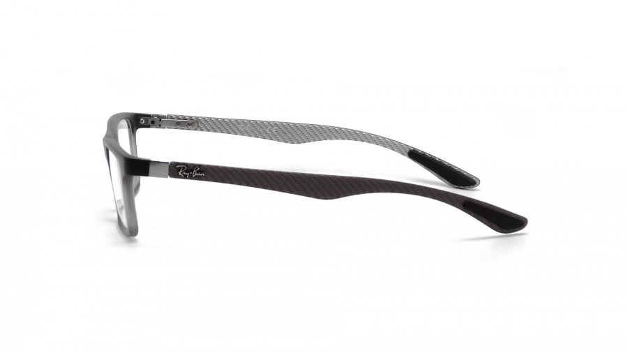 9abec18a83c Lunettes de vue Ray-Ban Fiber Carbon Grey RX8901 RB8901 5244 55-17