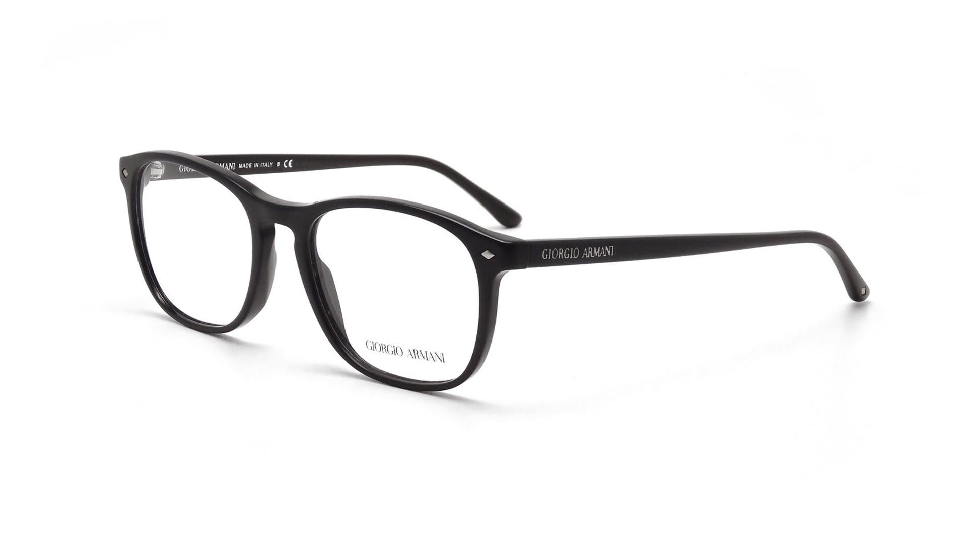 Giorgio Armani Glasses Black Frame : Giorgio Armani Frames of Life Black AR7003 5001 52-18 ...