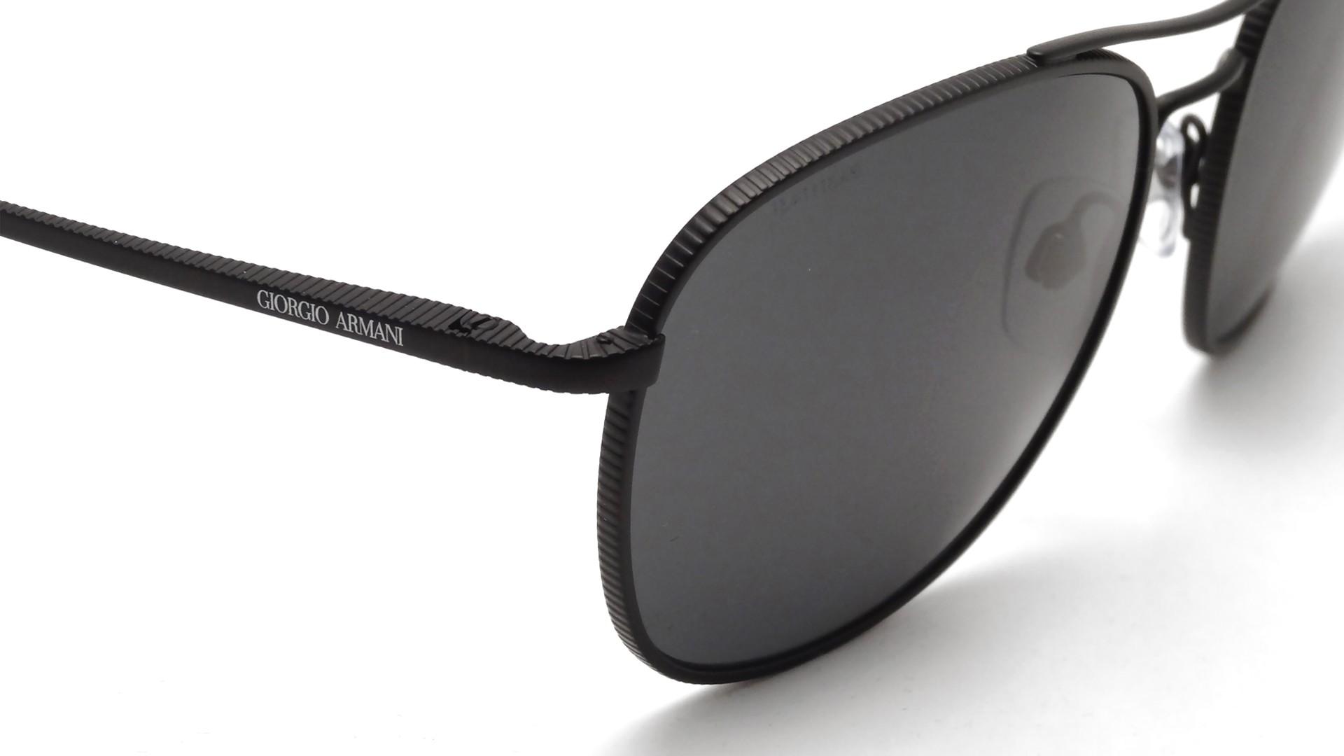 Armani Gold Frame Sunglasses : Giorgio Armani Frames of Life Black AR6021 3001/87 57-18 ...