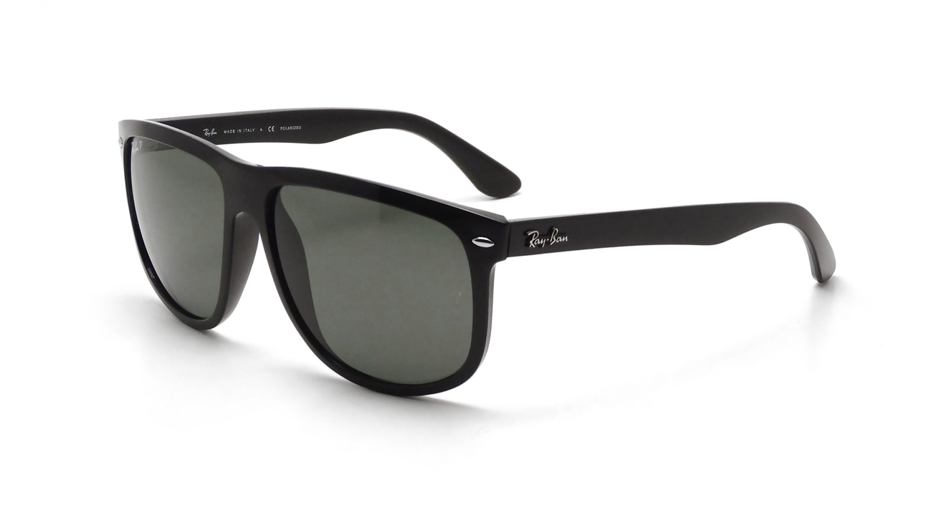 black polarized lenses  Ban RB4147 601/58 60-15 Black Polarized