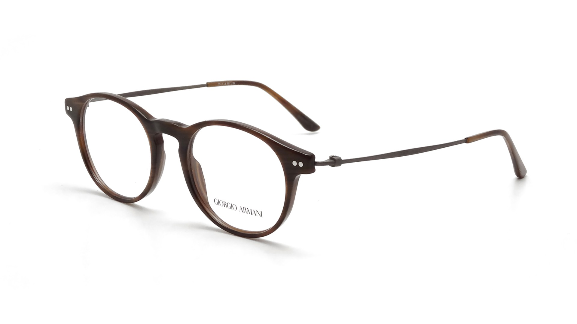 giorgio armani frames of brown ar7010 5023 49 18