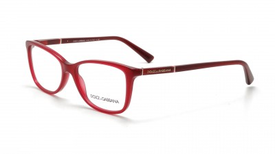 Dolce & Gabbana Logo Plaque Red DG3219 2681 53-16 142,50 €