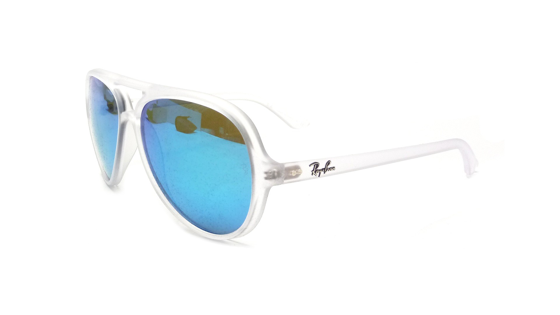 55212f6e41 Ray Ban Cats 5000 Blue Flash Ray Bans « Heritage Malta