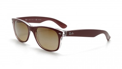 Ray-Ban New Wayfarer Purple RB2132 6054/M2 55-18 Polarized 108,25 €