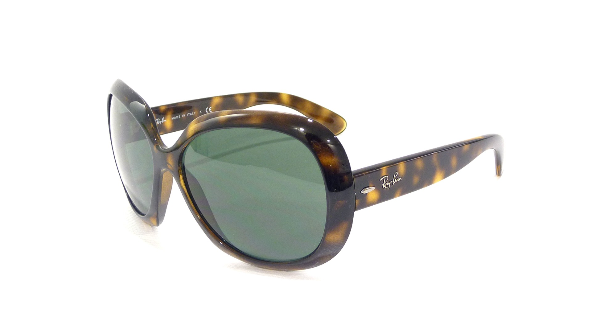 0630bd40d55 Ray Ban Rb4101 Jackie Ohh Sunglasses Brown Frame Crystal Brown G ...