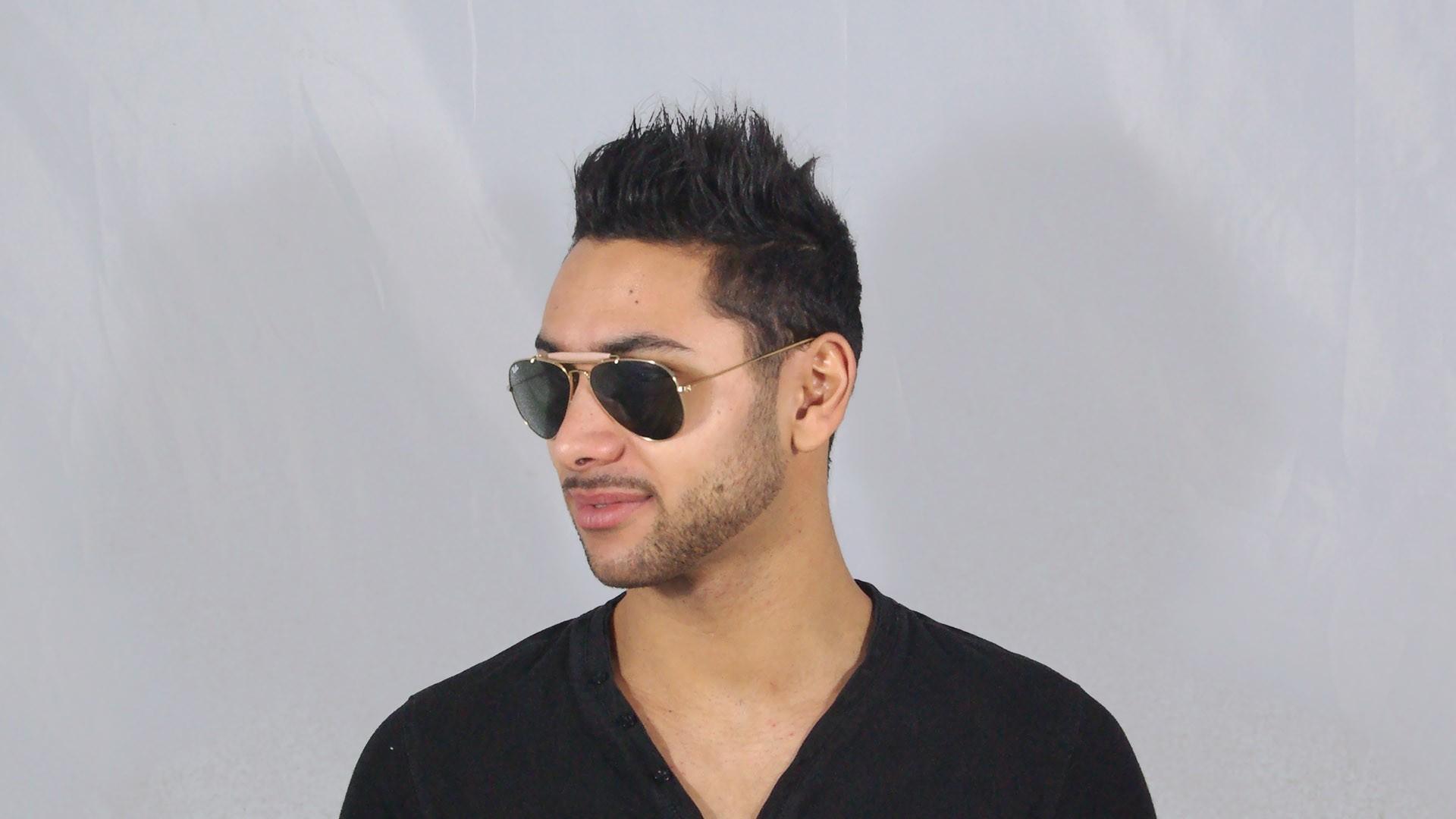 97c0ab328e Ray Ban Outdoorsman Sunglasses Rb3030 L0216 58 14