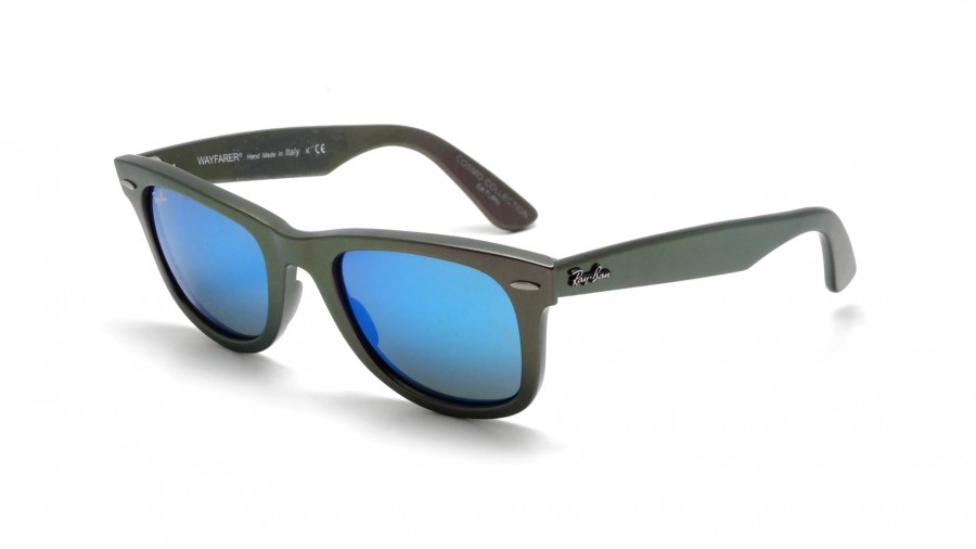 Ray ban bleu miroir louisiana bucket brigade for Ray ban verre bleu miroir