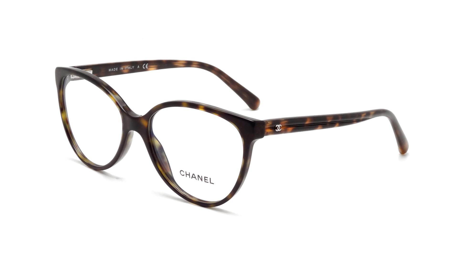 Chanel CH3312 C714 55-16 Tortoise Visiofactory
