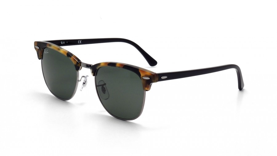 tortoise ray ban clubmaster  Ray-Ban Clubmaster Fleck Tortoise RB3016 1157 51-21