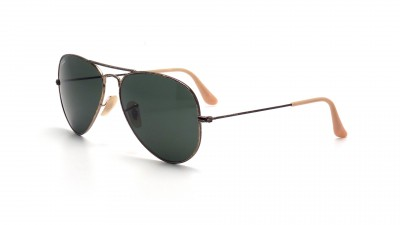 Lunettes de soleil Ray-Ban Aviator Distressed Effet Usé Or RB3025 177 58-14 83,25 €