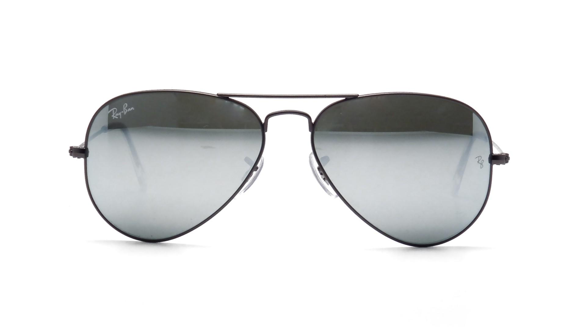 ray ban aviator large metal grey rb3025 029 30 55. Black Bedroom Furniture Sets. Home Design Ideas