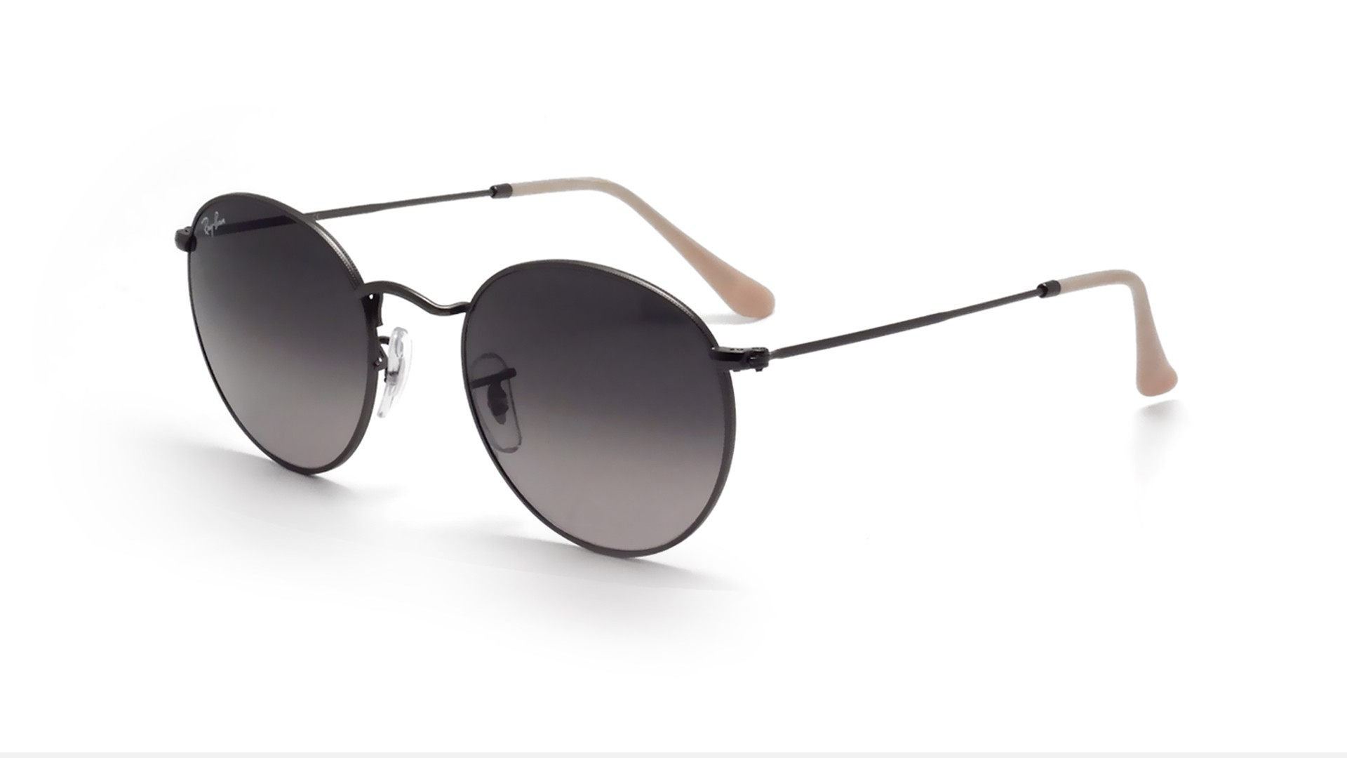 ray ban round sale  Ban Round Metal Silver RB3447 029/71 50-21