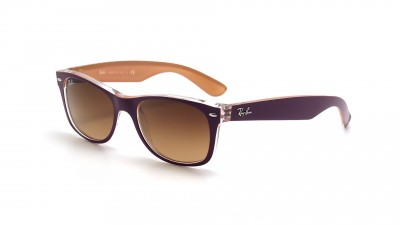 Ray-Ban New Wayfarer Violet RB2132 619285 52-18 77,42 €