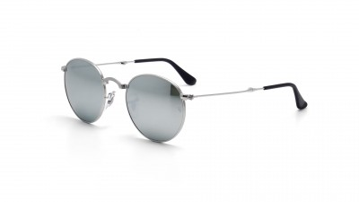 Ray-Ban Round Argent RB3532 003/30 47-20 Pliantes 108,25 €