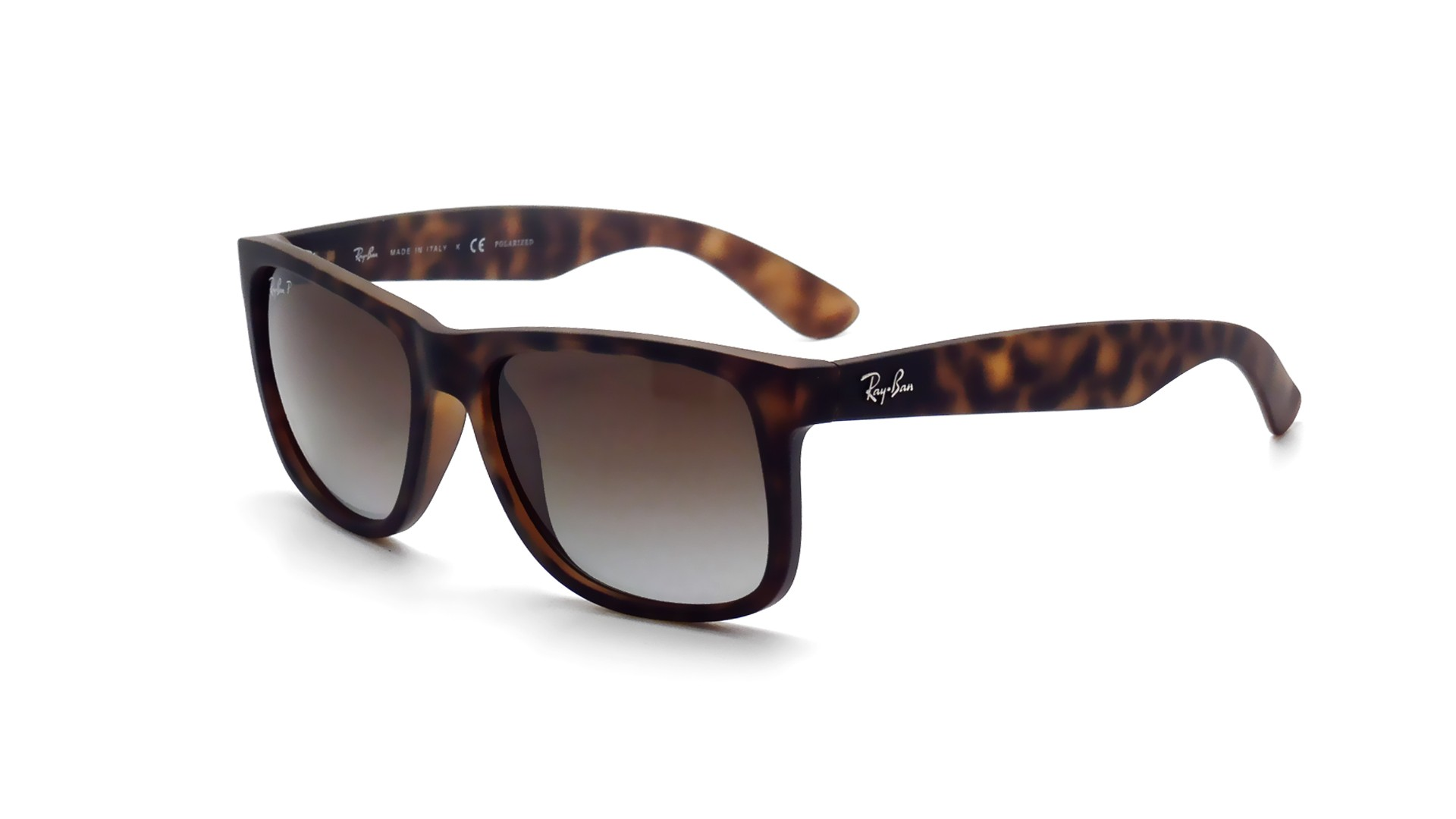 47a17d235f Ray Ban Justin Sunglasses Rb4165 710 13 54-16tortoise Frame Brown Gradient  Lenses