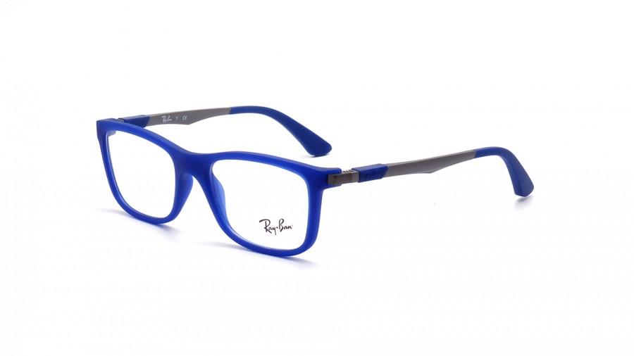 lunette ray ban junior bleu