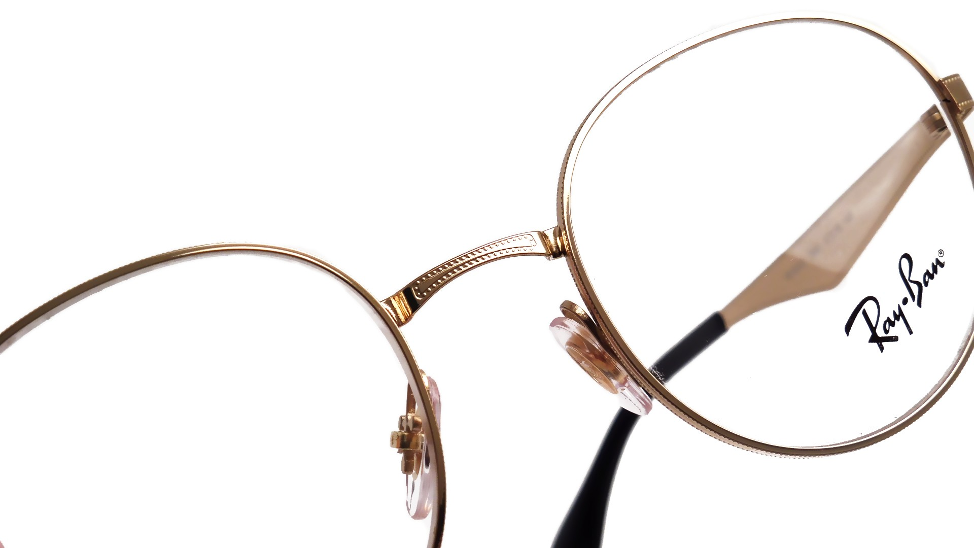 Gold Ray Ban Frames Eyeglasses - Highgate Park