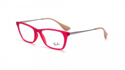 Lunettes de vue Ray-Ban Youngster Rouge RX7053 RB7053 5525 52-17 54,92 €