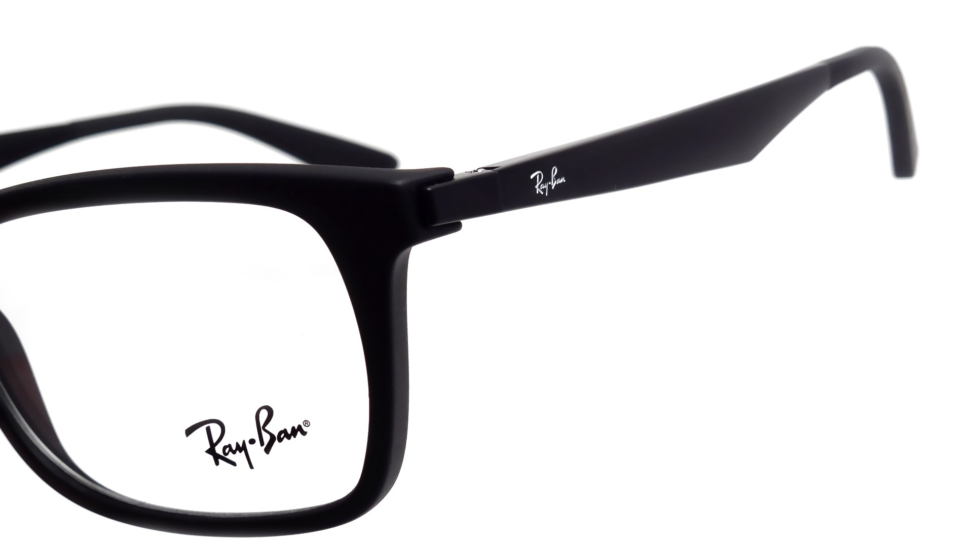 Ray-Ban RX7062 RB7062 2077 53-18 Black   Visiofactory cb7fc26920