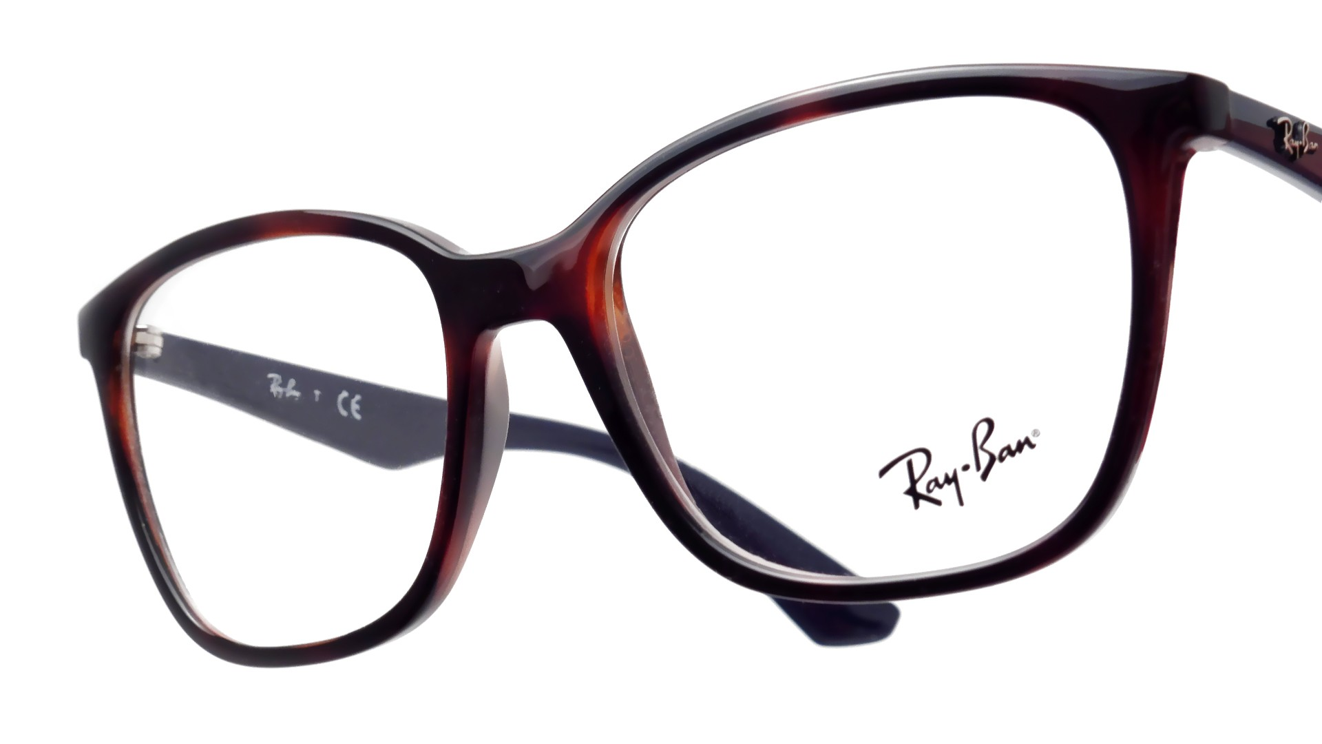 c9010ef590c Eyeglasses Ray Ban RX7066 RB7066 5585 52 17 Tortoise Visiofactory