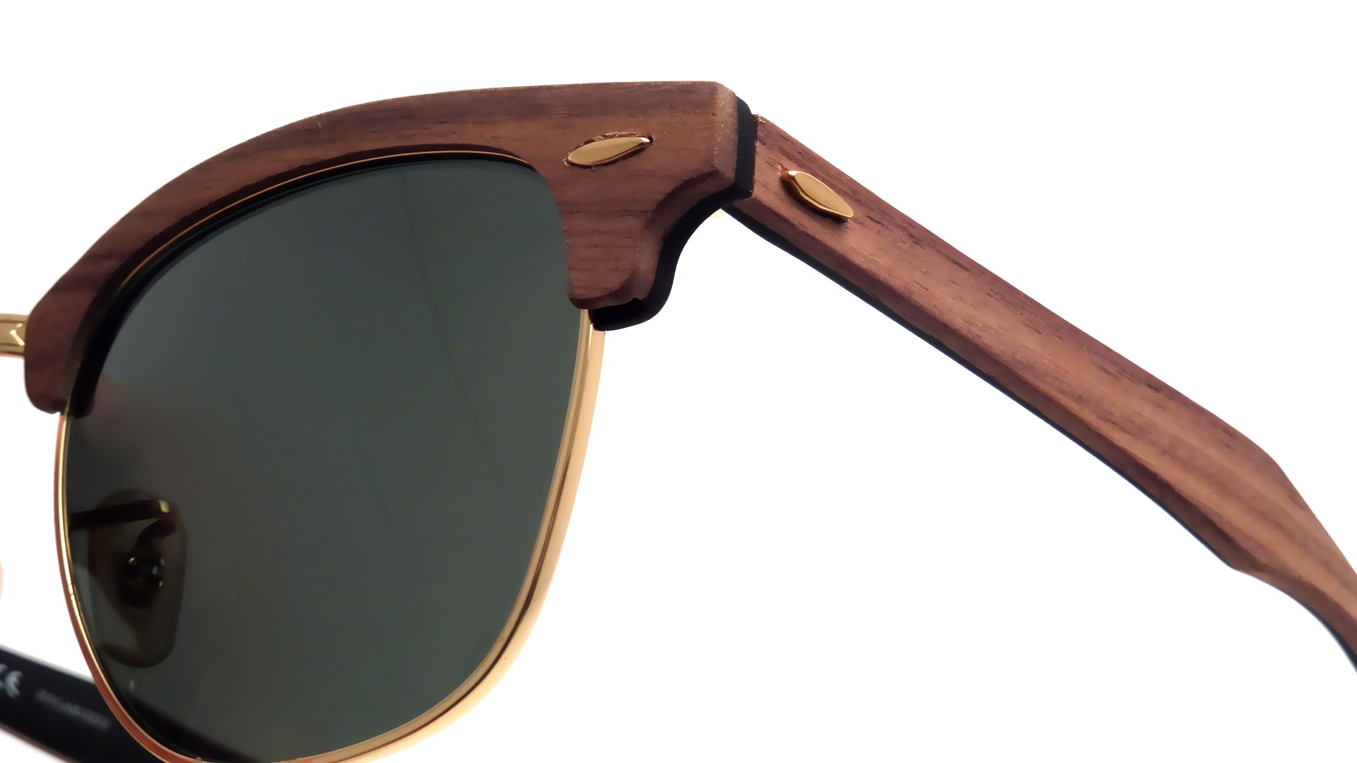 7686081989a Ray Ban Clubmaster Wood Brown « Heritage Malta
