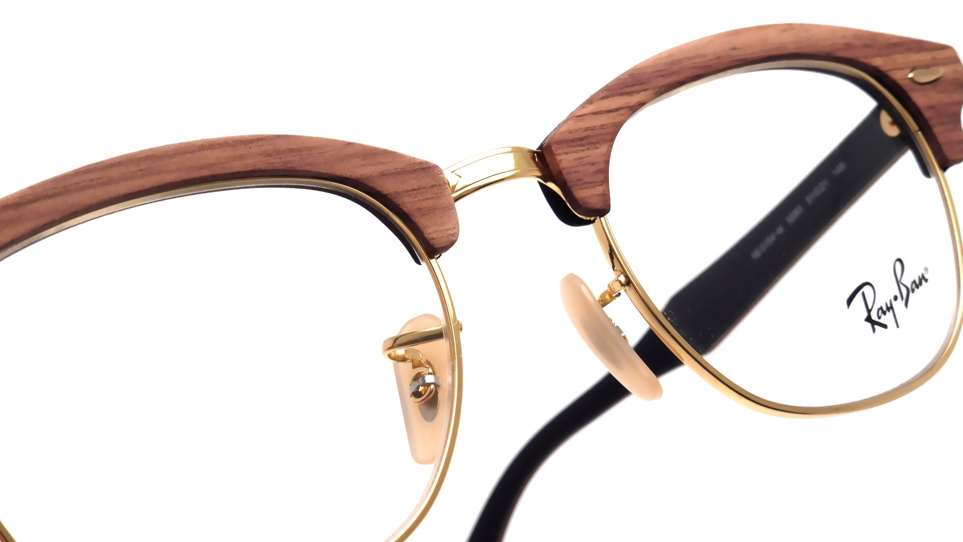 6ff5c362ece Ray Ban Clubmaster Wood Frame - Bitterroot Public Library