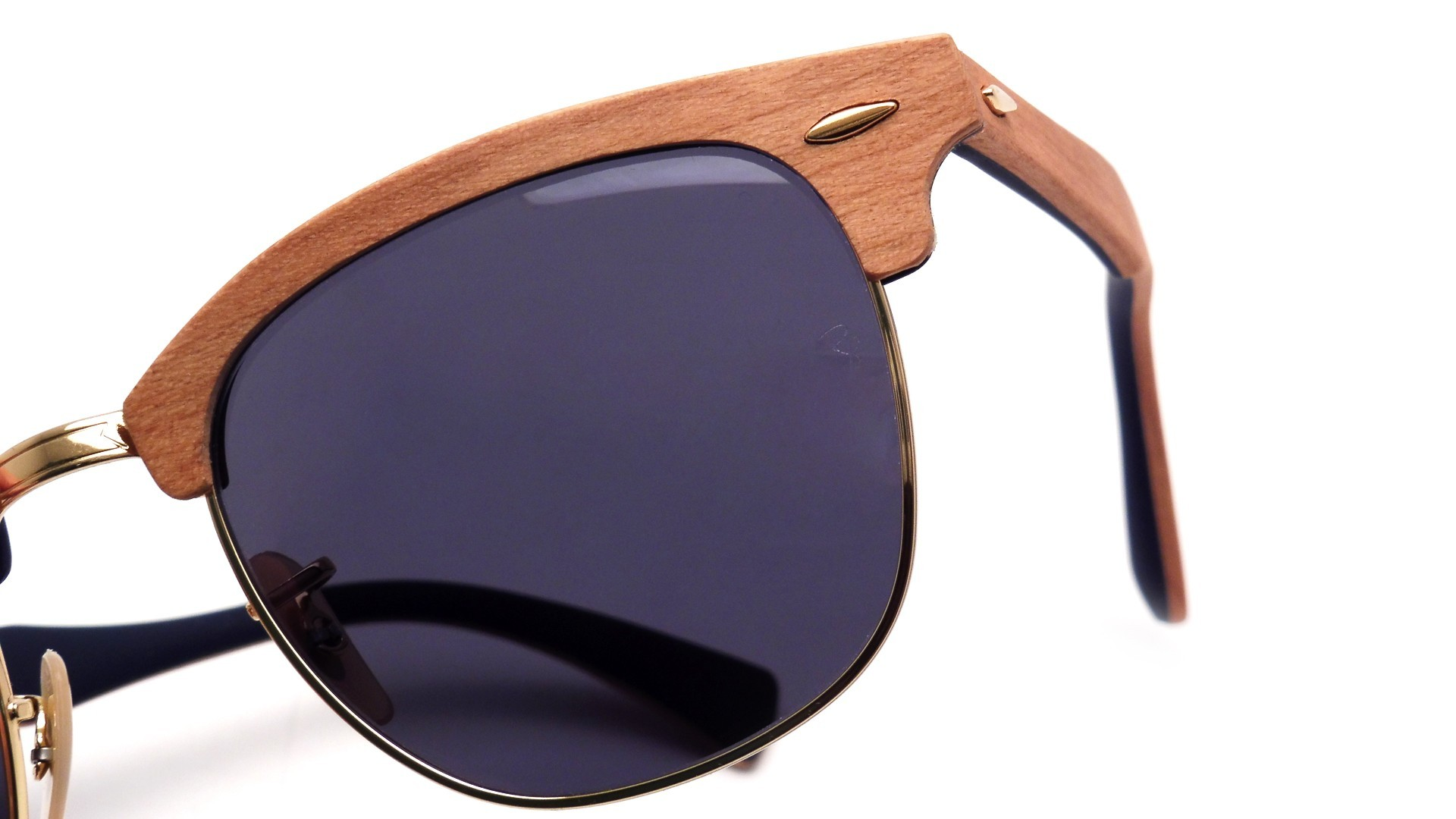3d2158541d5a Ray Ban Clubmaster Wood Rb3016m