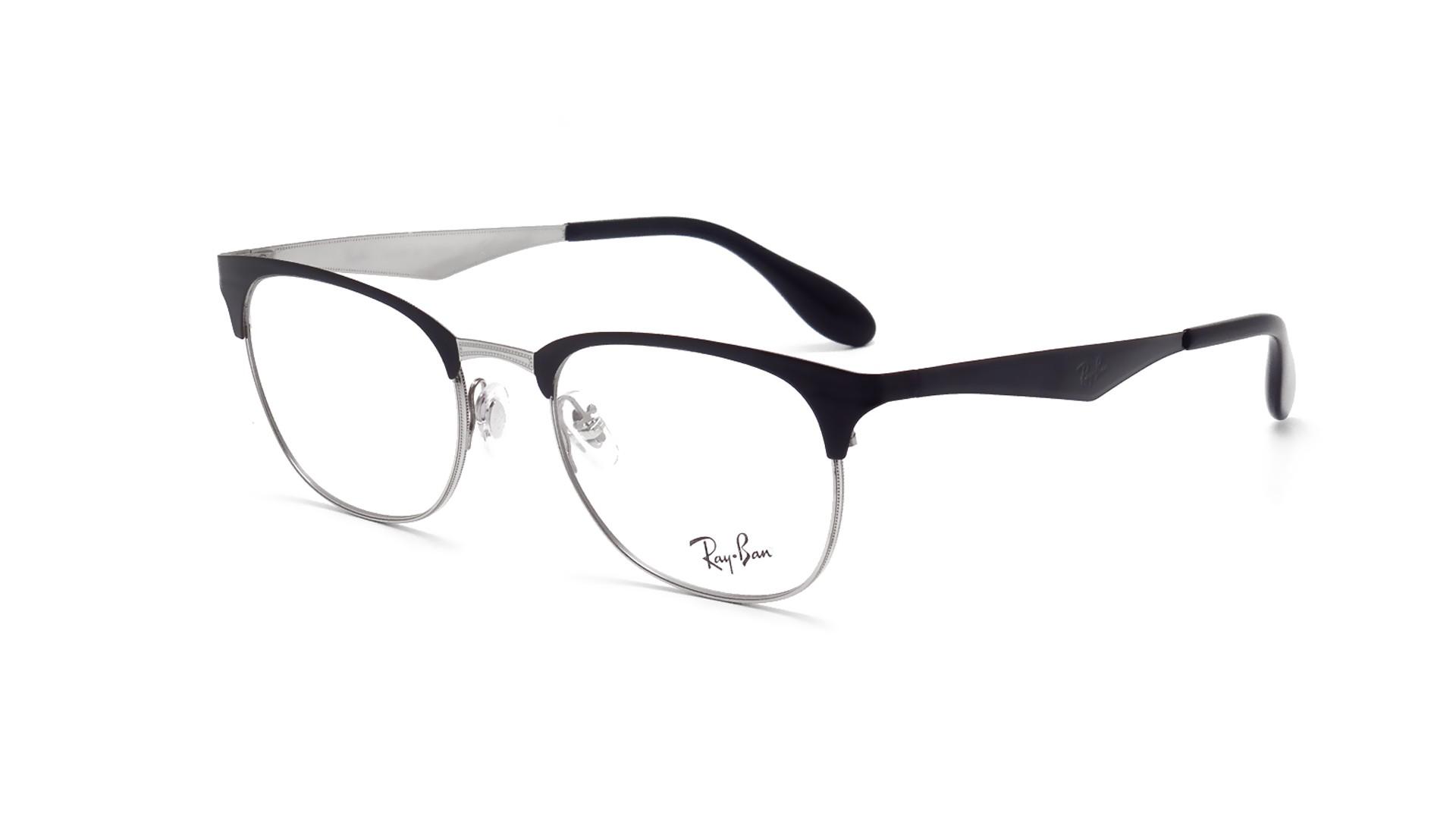 clubmaster ray ban eyeglasses  Ban Clubmaster Black RX6346 RB6346 2861 50-19