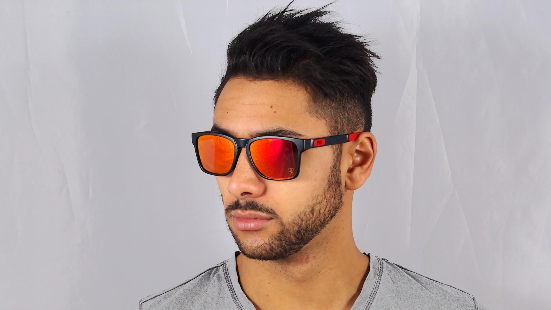black friday oakley sunglasses 8z2e  Oakley Catalyst Scuderia Ferrari Black Matte OO9272 07 56-17  Visiofactory
