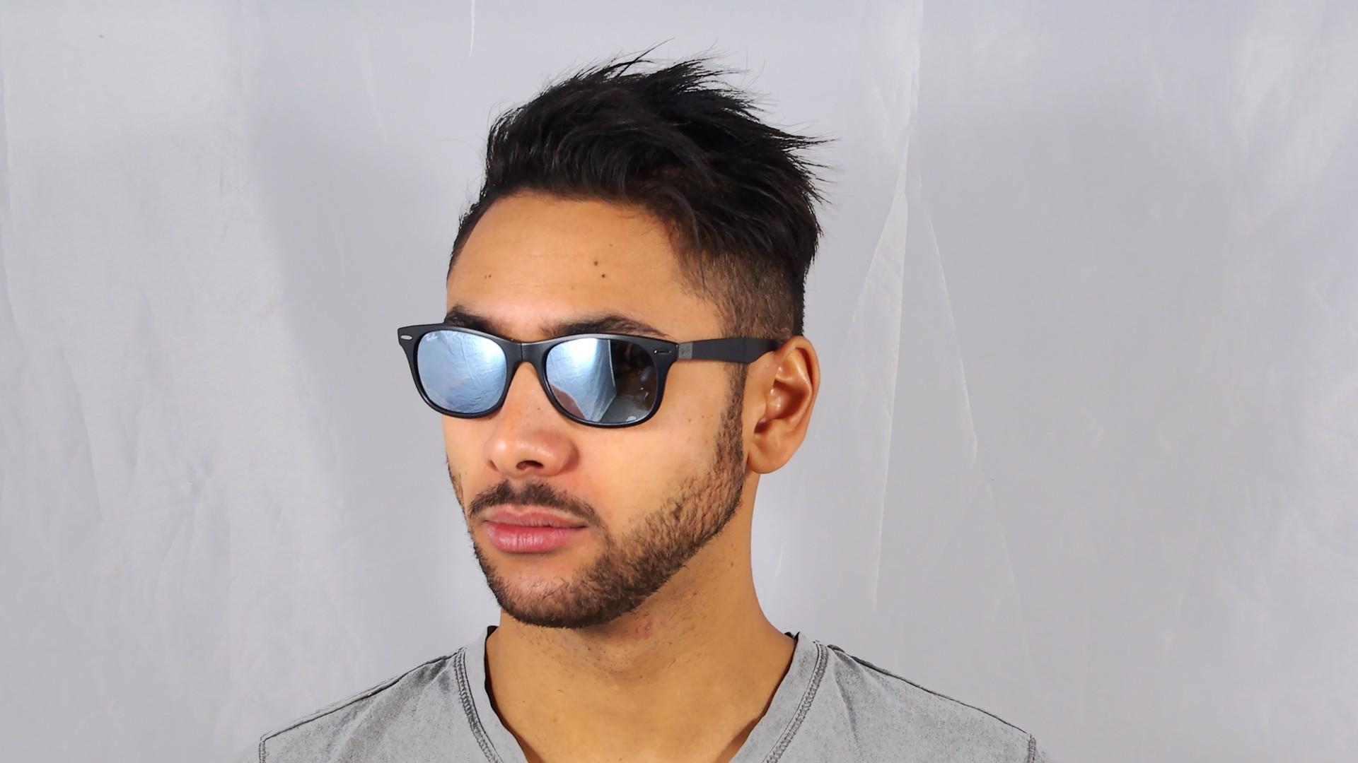 4f208e1572e2e2 Ray-ban cats 5000 rb4125 - noir   gris lunettes de soleil ray-ban ...