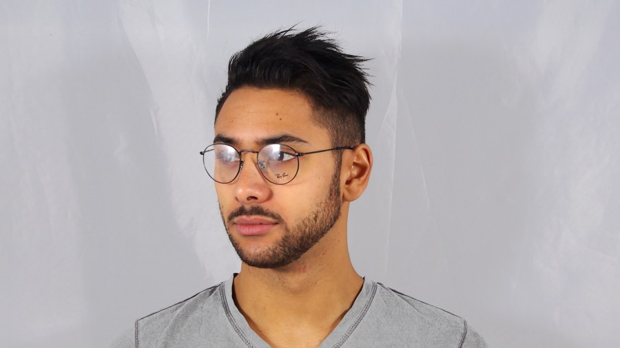 181545701e Ray-ban Round Metal Rx3447v 2503 L - Bitterroot Public Library