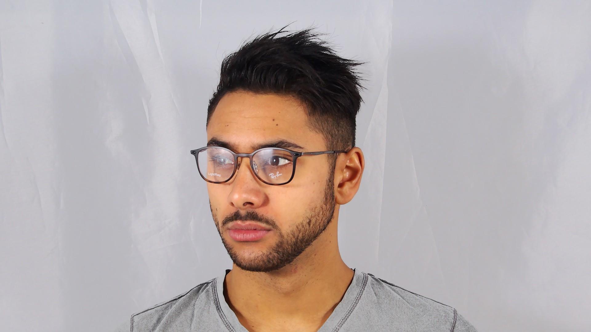 Ray-Ban Light Ray RX7051 RB7051 5200 47-20 Tortoise ... Giorgio Armani Eyeglasses