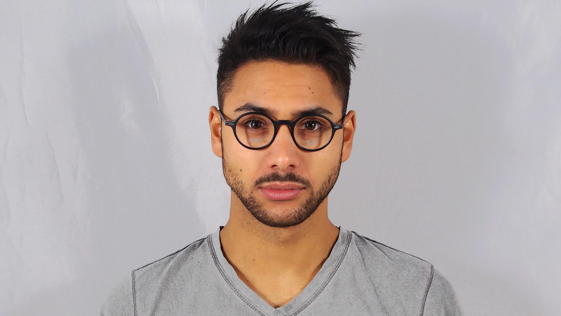 Ray-Ban Liteforce Black RX7069 RB7069 5204 46-22 ... Giorgio Armani Eyeglasses