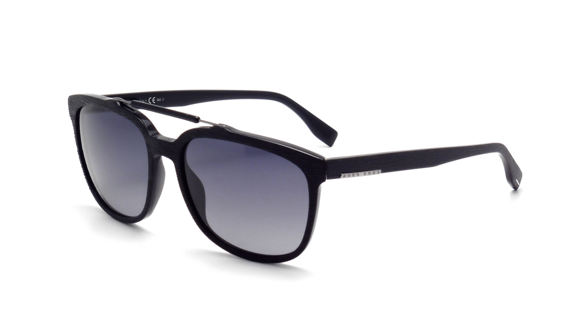 hugo boss 0636s 807hd 56 17 black matte 14242