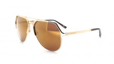 Dolce & Gabbana Gold Plated DG2151 18K K440F9 59-15 Or 252,42 €