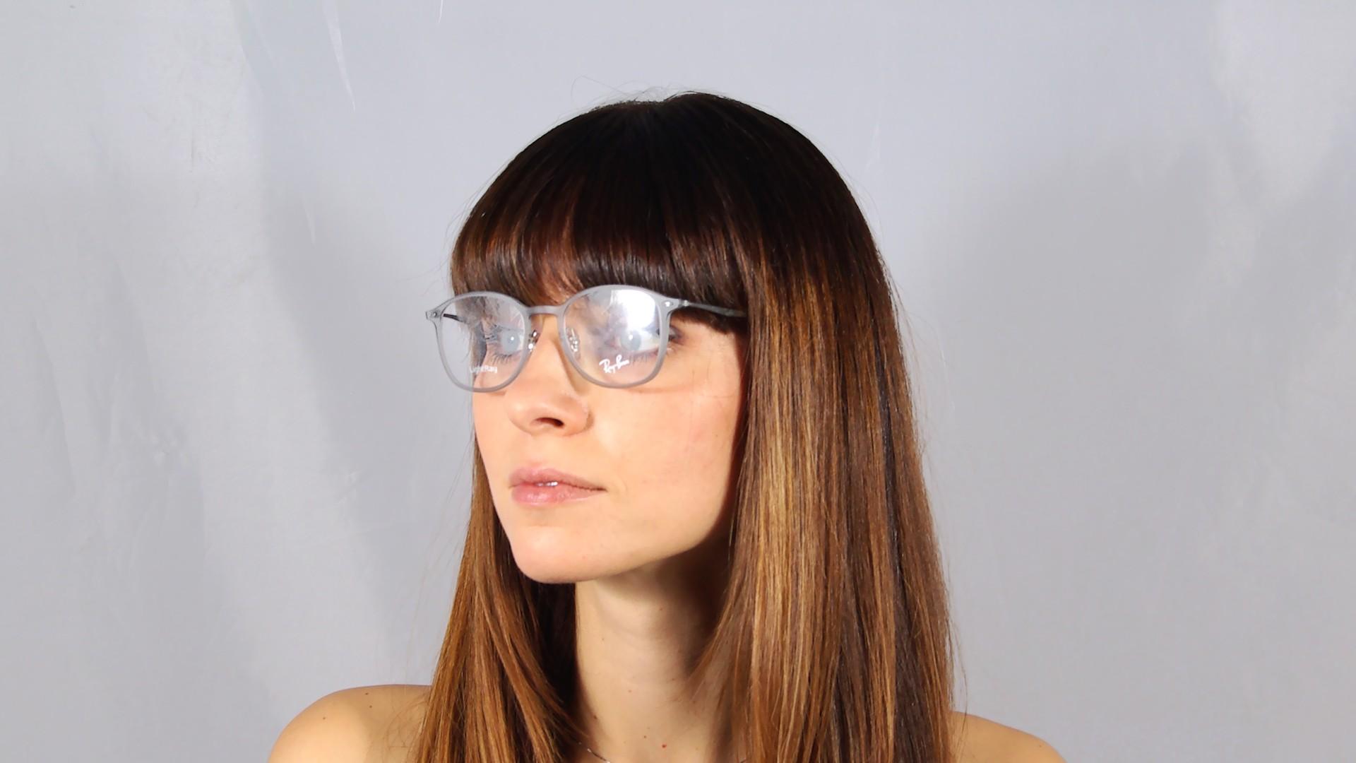 Ray-Ban Light Ray RX7051 RB7051 5482 47-20 Grey | Visiofactory Giorgio Armani Eyeglasses
