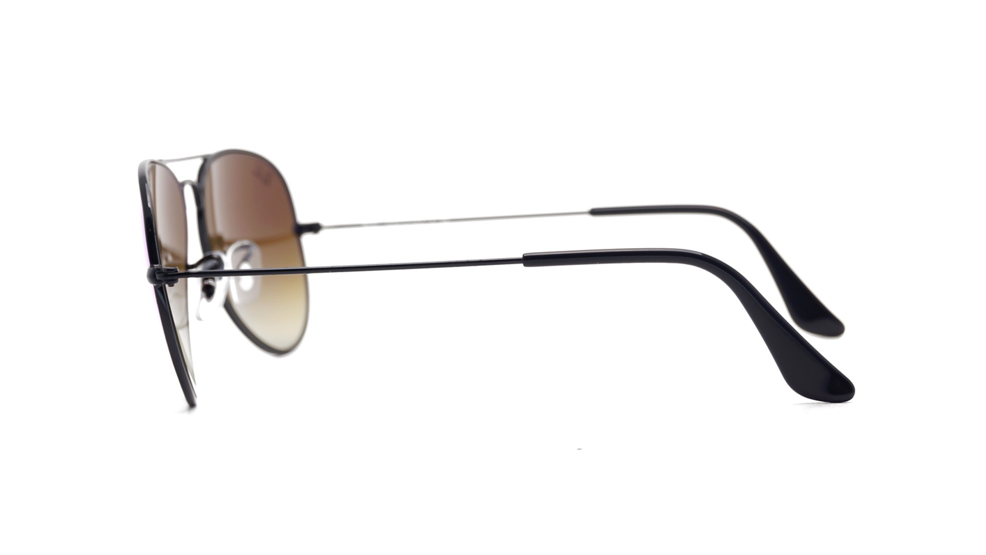 Images ray ban aviator large metal rb3025 l2823 for Miroir metal noir