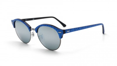 Ray-Ban Clubround Bleu RB4246 984/30 51-19 91,58 €